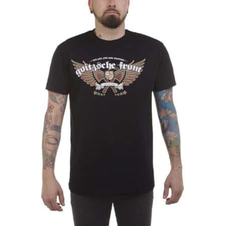 Shirt Hart aber Gerecht Front