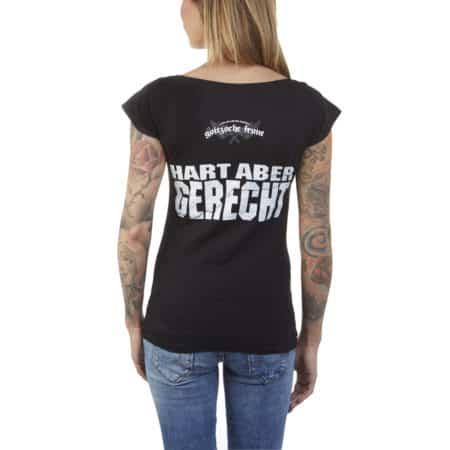 """Girly-Shirt """"Die Axt aus der Provinz"""""""
