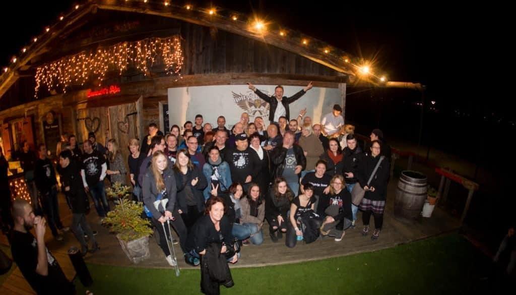 Goitzsche Front Unplugged XMAS Concert, Sehnsucht Alm, Bitterfeld, 22.12.2015.