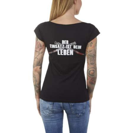 "Girly-Shirt ""Vier Asse"""
