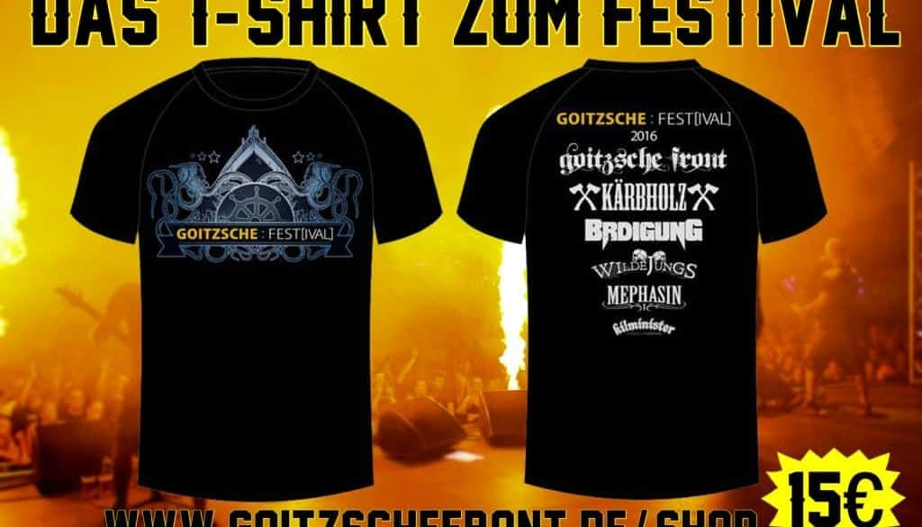 Goitzsche Festval Shirt 2016