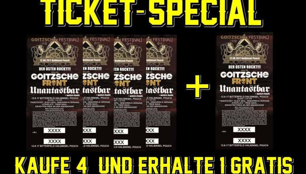 Ticketspecial 4+1
