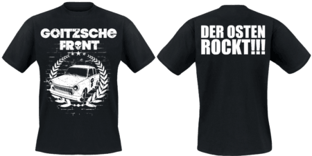 """Shirt """"Der Osten rockt - Trabi"""""""