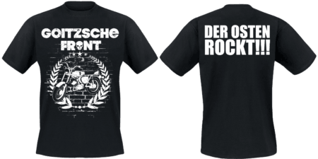"""Shirt """"Der Osten rockt - Moped"""""""