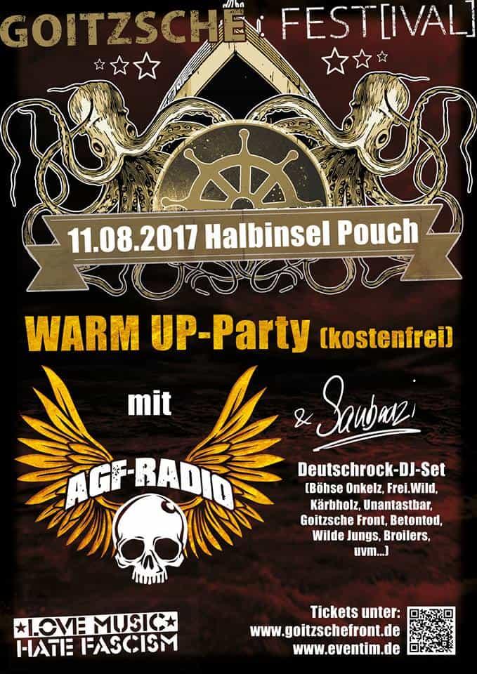 Warm Up Party GF-Fest 2017