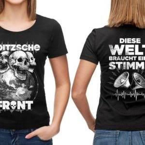 "Girly Shirt ""Diese Welt"""
