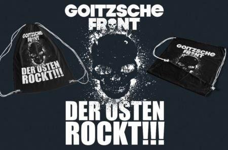 """Turnbeutel """"Der Osten rockt!"""""""