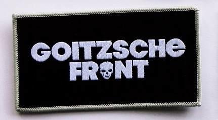 """Aufnäher """"Goitzsche Front"""""""