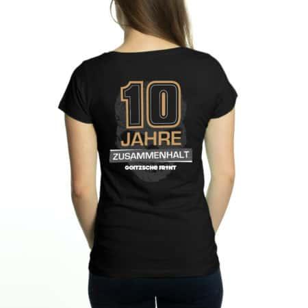 """Girly Shirt """"10 Jahre Goitzsche Front"""""""