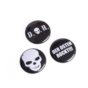 """Button 3er Set """"Der Osten rockt"""""""