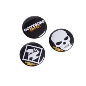 "Button 3er Set ""Goitzsche Front"""