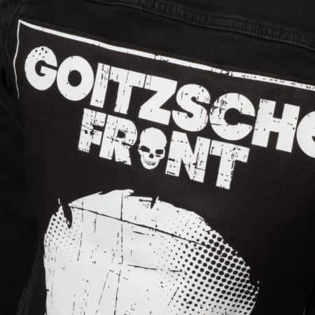"""Jeans Jacke Girly""""Goitzsche Front"""" LIMITIERT"""