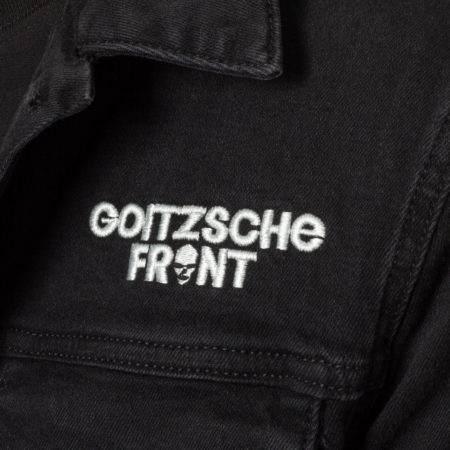 """Jeans Jacke """"Goitzsche Front"""" LIMITIERT"""