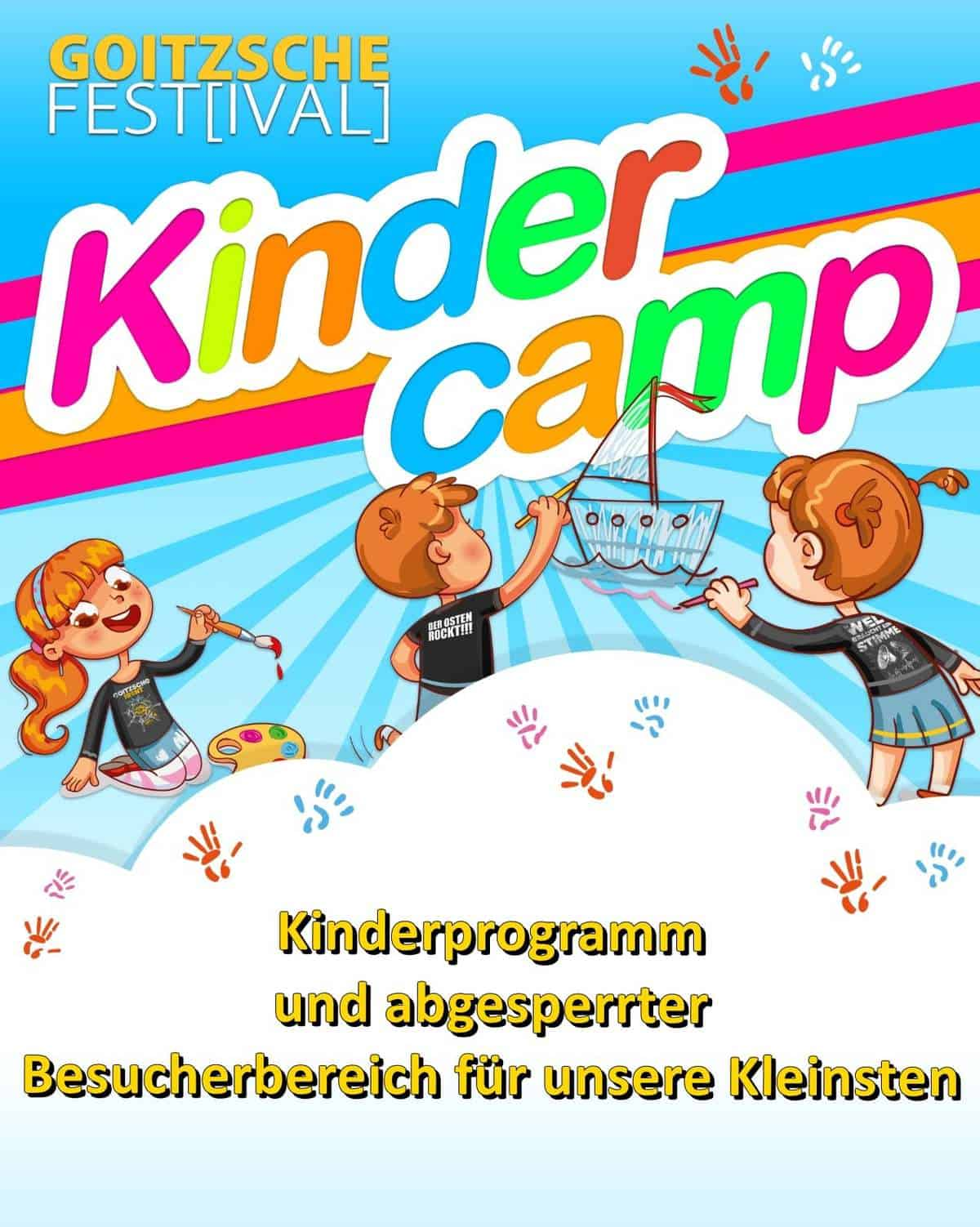 Kindercamp mit Text-min