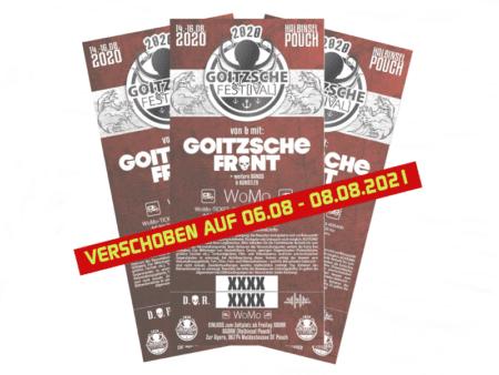 Goitzsche Fest[ival] 2021 Wohnmobil-Ticket