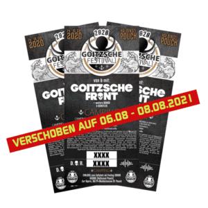 Goitzsche Fest[ival] 2021 Camping-Ticket