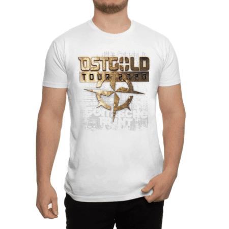 """Shirt """"Ostgold Tour"""" Weiss"""