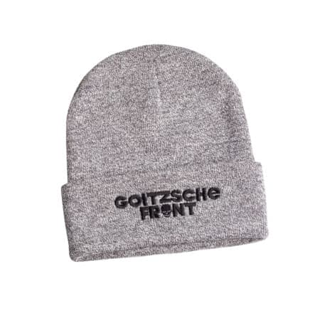 "Beanie ""Goitzsche Front"" Grau"