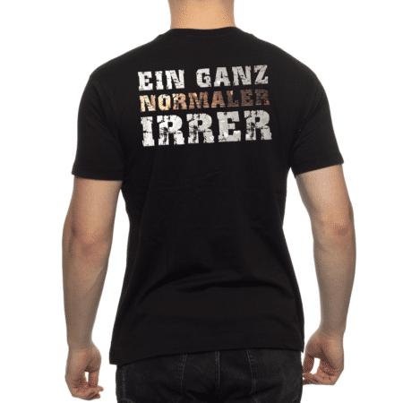 """Shirt """"Ein ganz normaler Irrer"""""""