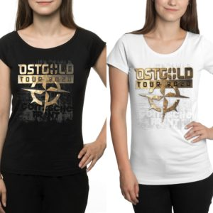 "Girly Shirt ""Ostgold Tour"" Doppelpack"