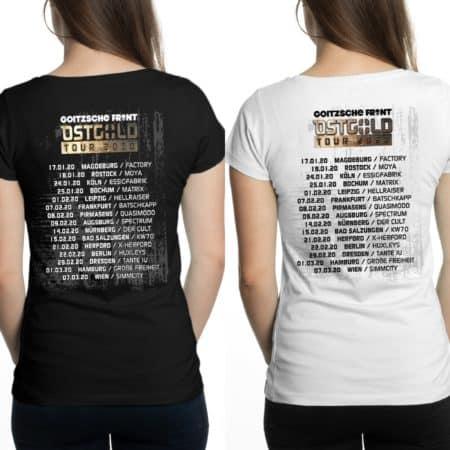 "Girly Shirt ""Ostgold Tour"" Doppelpack"